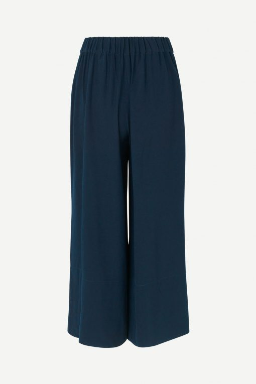 Samsoe&Samsoe Luella Trousers Dark Blue
