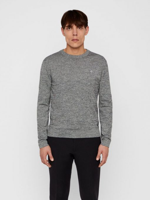J.Lindeberg Niklas Knitted Sweater Black