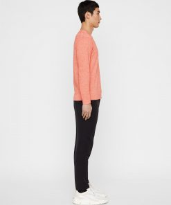 J.Lindeberg Niklas Knitted Sweater Coral red