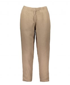 Balmuir Louise Linen Trousers Almond
