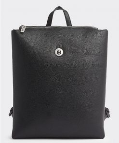 Tommy Hilfiger Core Plaque Backbag Black