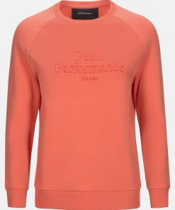 Peak Performance Original Crew Women Clay Red