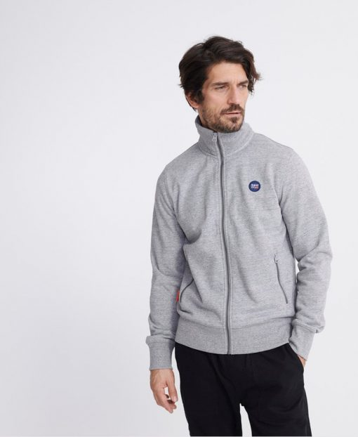Superdry Collective Track Top Grey