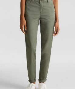 Esprit Chino Pants Khaki Green