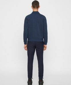 J.Lindeberg Jacob Zip Sweatshirt Navy