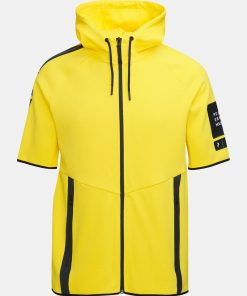 Peak Performance Tech Zip SS Hood Stowaway Yellow