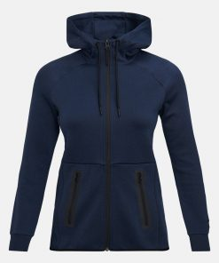 Peak Performance Tech Zip Hood Navy