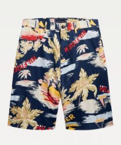 Tommy Hilfiger Brooklyn Hawaii Shorts Blue