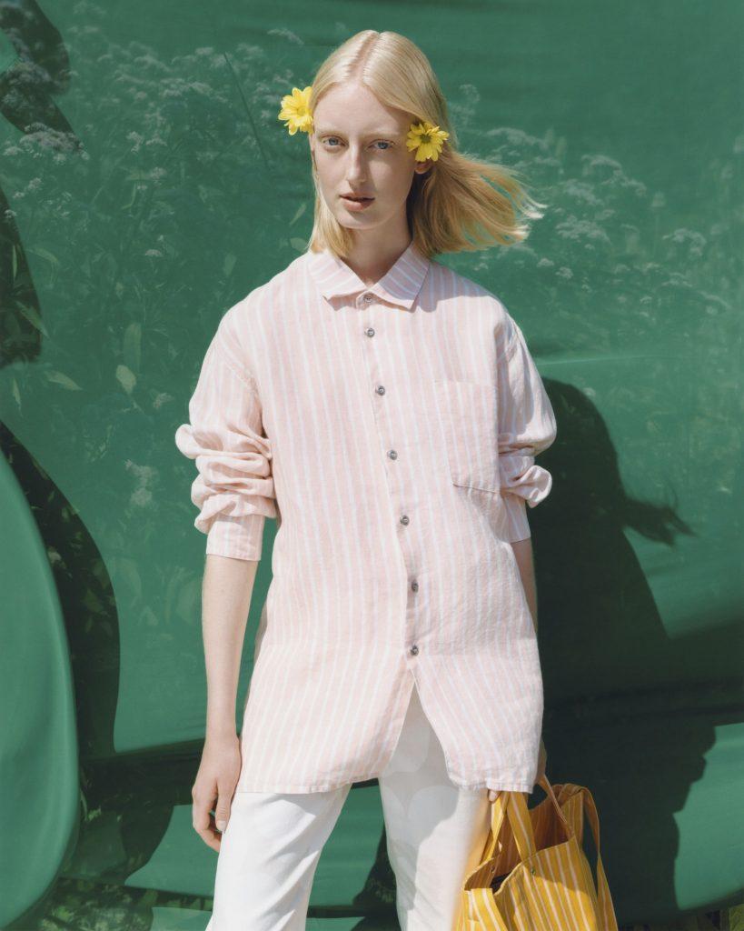 Marimekko linen shirt