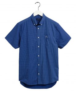 Gant Printed Shirt Regular fit Crisp blue