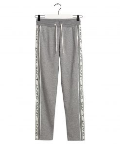 Gant 13 Stripes Sweat Pant Grey melange