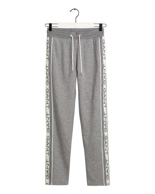Gant 13 Stripes Sweat Pant Grey melange