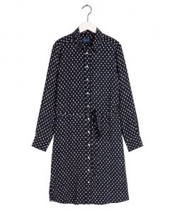 Gant Desert Jewel Shirt Dress Evening Blue