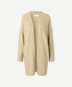 Samsoe & Samsoe Nor Cardigan Olive Grey
