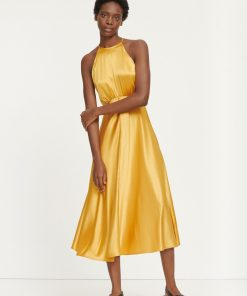 Samsoe & Samsoe Rhea Dress Mineral Yellow