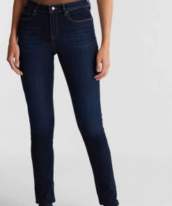 Esprit Denim Pants Slim Dark blue