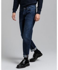Gant Slim Jeans Dark Blue Worn In