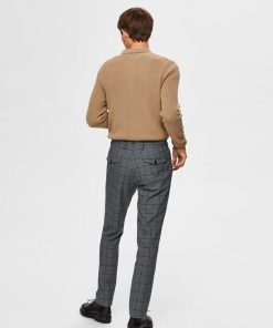 Selected Carlo Cotflex Pants Grey