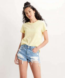 Levi's The Perfect Tee Outline Yellow