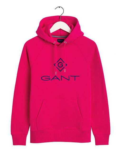 Gant Colour Lock-up Hoodie Love potion