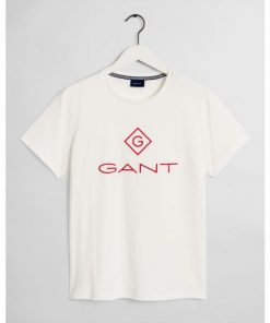 Gant Color Lock-Up T-shirt Eggshell