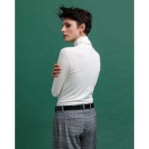 Gant Turtleneck Jersey Offwhite
