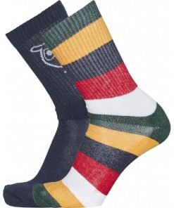 Knowledge Cotton Apparel Linden Socks 2-pack Multicolour