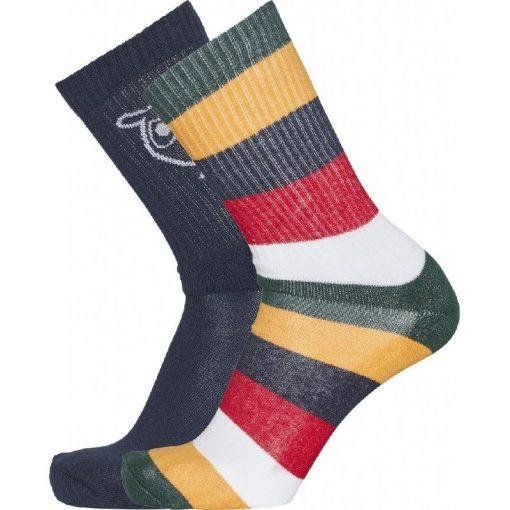Knowledge Cotton Apparel Linden Socks 2-pack Multicolour