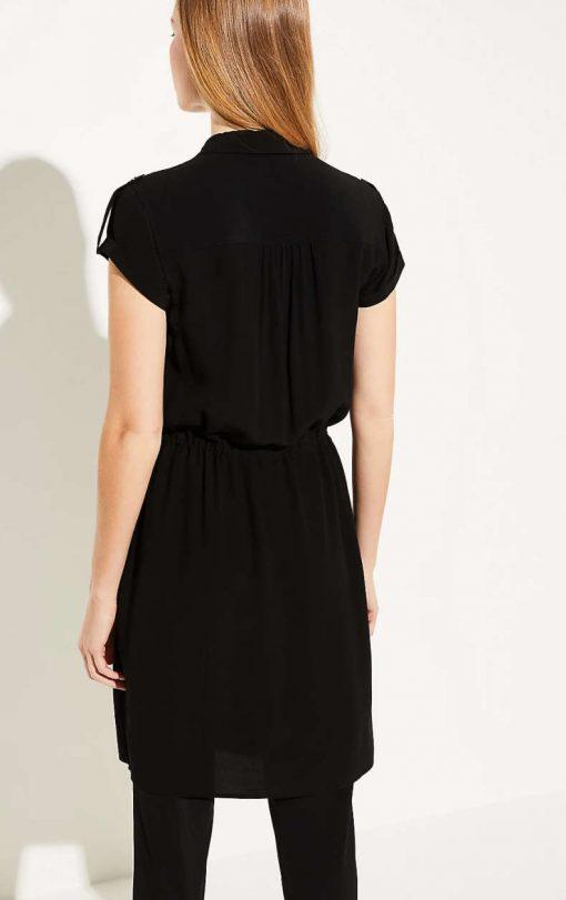 Comma Shirt Dress Black
