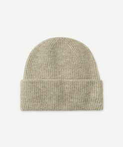 Samsoe&Samsoe Nor Hat Olive Grey Mel