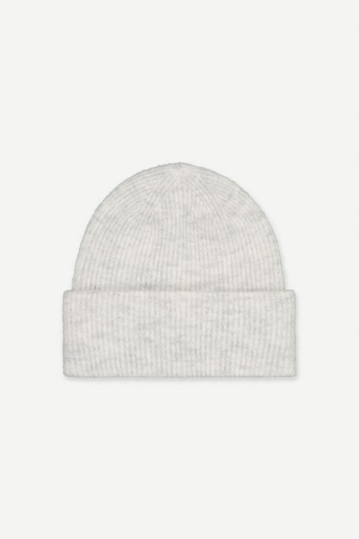 Samsoe&Samsoe Nor Hat White melange