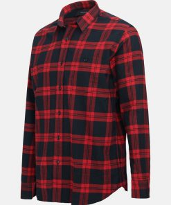 Peak Performance Steve Flanell Shirt Red Check
