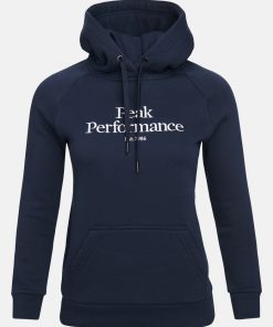 Peak Performance Original Hood Women Blue Shadow