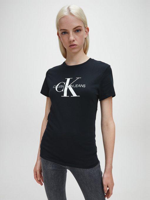 Calvin Klein Monogram Logo T-shirt Black