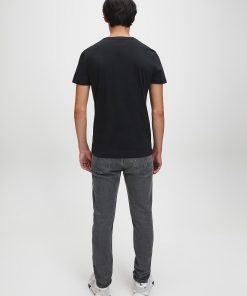 Calvin Klein Institutional logo T-shirt Black