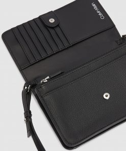 Calvin Klein Phone Crossbody Wallet Black