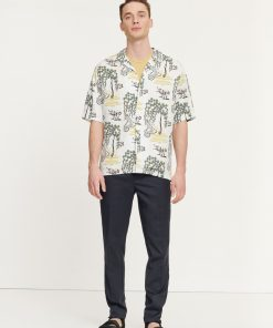 Samsoe&Samsoe Oscar Shirt Forest bright