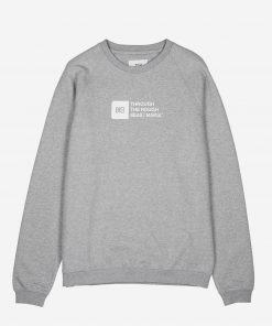 Makia Flint Light Sweatshirt Grey