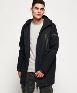Superdry Hydrotech Waterproof Parka Black