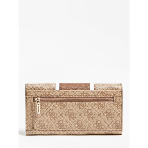 Guess Cathleen Trifold Wallet Brown
