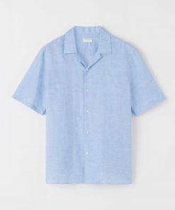 Tiger of Sweden Riccerde2 Shirt Silver blue