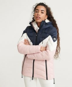 Superdry Colourblock Eclipse Jacket Pink