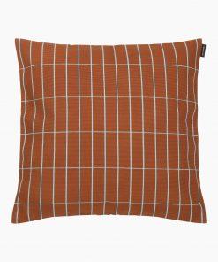 Marimekko Pieni Tiiliskivi Pillowcase 40 x 40cm Kastanja