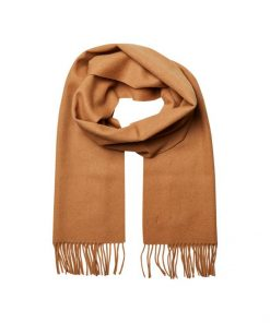 Selected Homme Tope Wool Scarf Tigers Eye
