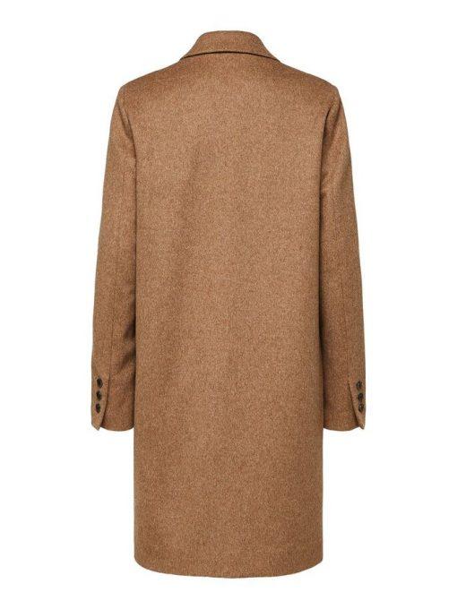 Selected Femme Sasja Wool Coat Amphora