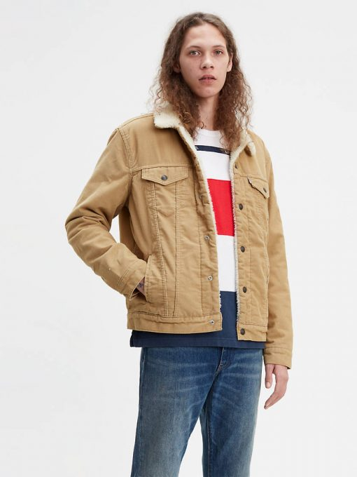 Levi's Type 3 Sherpa Jacket Brown