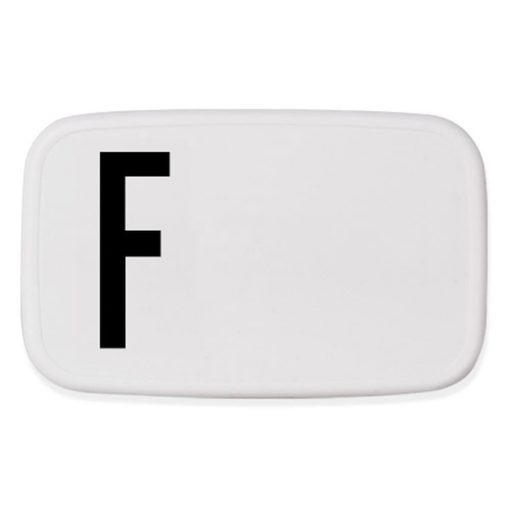 Design Letters Lunch Box F