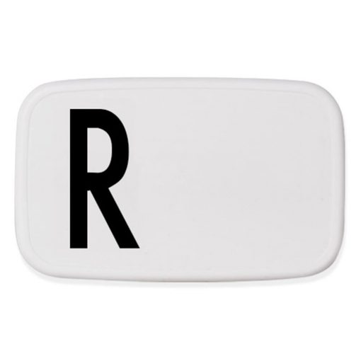 Design Letters Lunch Box R