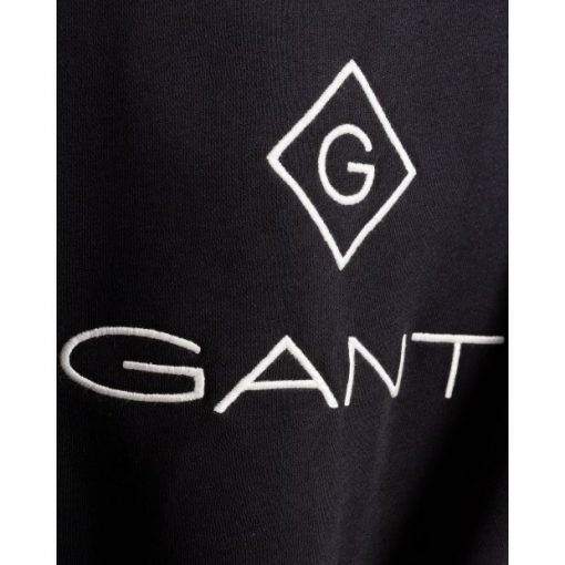 Gant Lock Up C-Neck Sweatshirt Black