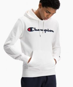 Champion Hooded Sweatshirt White